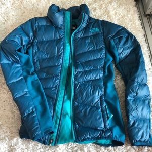 North face 600 womens lightweight down winter coat
